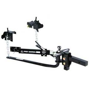 Husky Towing Weight Distribution Hitch Round Bar 6000 Lbs 2 Ball Sway Control