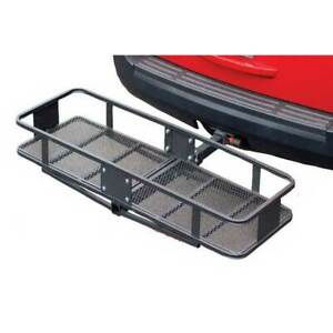 Husky Towing Trailer Hitch Cargo Carrier 2 Receiver 500 Lbs 60 x20 x6 Platform