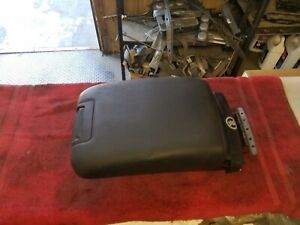 2008 Subaru Outback Center Console Arm Rest Black Leather Oem