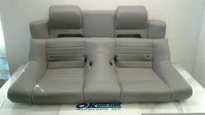 05 09 Ford Mustang Convertable Rear Seat Top And Bottom Gray Leather