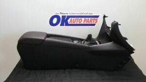 2018 Mazda 3 Center Floor Console Assembly Black And Dark Brown