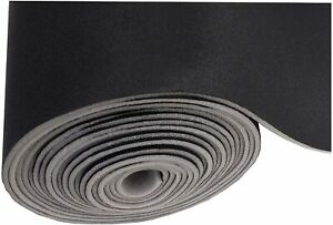 Black Automotive Headliner Replacement Fabric 60 Wide foam Backed by The Yard