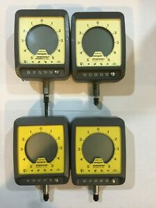 Lot Of 4 Federal Maxum Digital Electronic Dial Indicator Dei 14121 0001