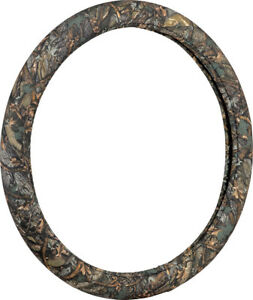 Wild Wood Camouflage Leaf Green Steering Wheel Cover Vic97223 9