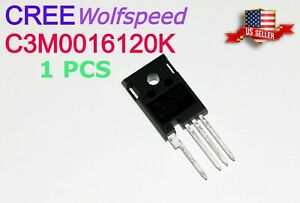 1 Pcs New Cree C3m0016120k Silicon Carbide Mosfet 16 Mohm 1200 V sic Fet