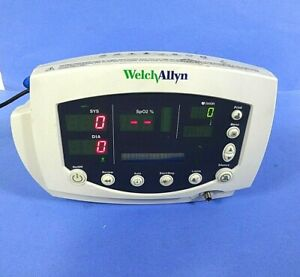 Welch Allyn 53stp Vital Signs Patient Monitor Complete Without Accessories