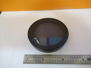 Zeiss Germany Stereo Polarizer Lens Microscope Part Optics As Pictured 3k a 70