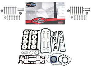 Full Engine Gasket Set For 1996 2002 Chevrolet 5 7l 350 Vortec Truck Head Bolt 6