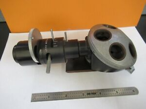 Leitz Germany Illuminator Nosepiece Microscope Optics Part As Pictured