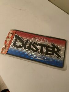 Vintage 1970 S Car Auto Tag Plate Chroma Graphics Nos Plymouth Twister Duster