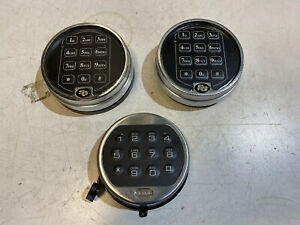 Lot Of 3 Sg la Gard Keypad Electronic Used 3715 61kp 101