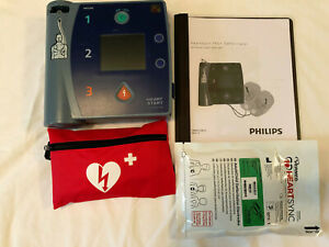 Philips Heartstart Fr2 Aed Defibrillator New Pads New Battery Exp 2024
