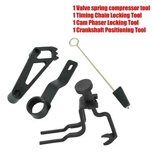 Valve Spring Compressor Crankshaft Positioning Tool For Ford 4 6l 5 4l 3v Engine