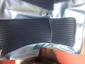 1968 Mustang Coupe New Blue Rear Seat Upholstery