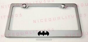Batman Superhero Stainless Steel Chrome Finished License Plate Frame