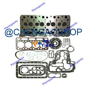 V1702 V1702a Cylinder Head Assy For Kubota Engine Kh90 Excavator Gasket Kit Zx