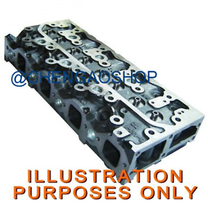 Cylinder Head Assy With Valves Springs Isuzu 4le1 Engine Hitachi Excavator Zx