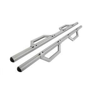 Dee Zee Hex Side Step Silver For Chevy gmc dodge ford Full Size Truck 05 20 Ec