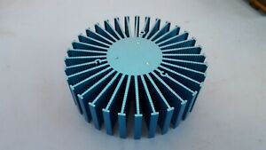 Heatsink Round For Power Led 6 X 1 5 Blue Color