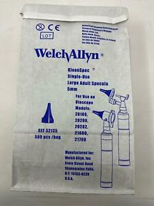 Welch Allyn Kleenspec Large Adult Specula 5mm Reference 52135 Bag Of 500