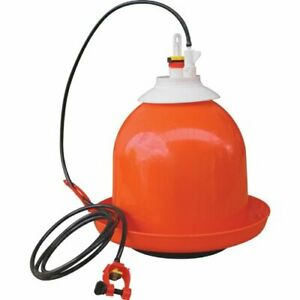Bell Waterer Bell matic Automatic Poultry Gamebird Pheasant Turkey Fount Drinker