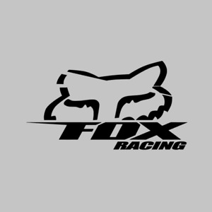 Fox Racing Decal Qty Vinyl Stickers Free Shipping