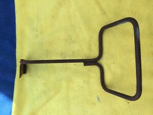 1967 1968 Mustang Fastback Rear Fold Down Seat Trap Door Handle Oem Ford