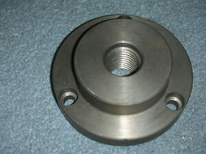 New Atlas Craftsman 6 Inch Lathe 1 8 3 Hole Backing Plate For 4 Inch Chucks