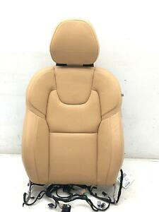 2016 2018 Volvo Xc90 Right Front Seat Upper Cushion Inscription Amber Leather