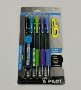 Pilot G 2 Mechanical Pencil 0 7mm Hb Lead includes Lead And Erasers Brand New