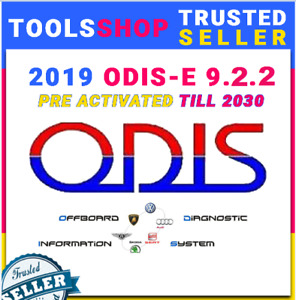 New 2019 Odis E 9 2 2 Vag Engineering Software License Till 2030