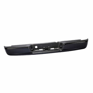 Steel Black Rear Step Bumper Assembly For 04 06 Dodge Ram Pickup Fit Ch1103112