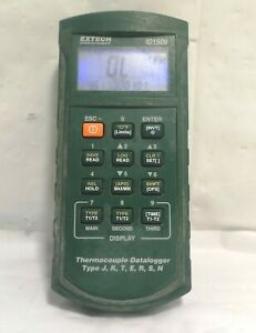Extech 421509 Thermocouple Datalogger Type J K T E R S N Sold As Is