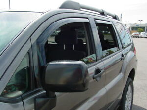 In channel Wind Deflectors 2004 2010 Mitsubishi Endeavor