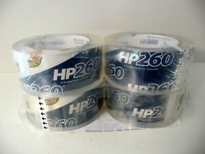 Lot Of 4 Duck Hp260 Packaging Tape 1 88 X 60yds High Performance quality fr Shpg