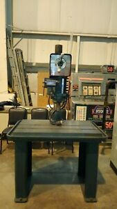 Drill Press With Heavy Duty Table