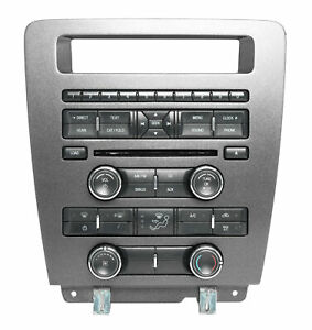 2010 Ford Mustang Audio Radio Climate Control Panel With Bezel Ar3t 18a802 Ja