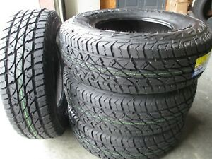 4 New Lt 245 75r17 Accelera Omikron At Tires 75 17 R17 2457517 A T E 10 Ply