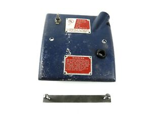 Ammco Brake Lathe 910348 Electrical Panel Strap Clamp For 3000 4000 4100