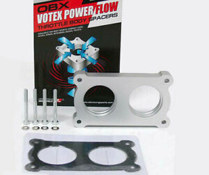 Throttle Body Spacer For 2005 2006 2007 Ford Mustang Gt 4 6l V8 By Obx