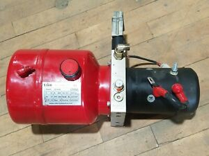 Vibo Md12160 Cmb2 Hydraulic Dc Power Unit Pack 12v 200a 1 6kw 2950rpm 18mpa Used