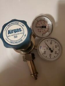 Airgas Monel Fluorine Cylinder Regulator