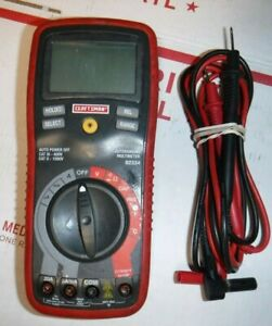 Craftsman Digital Multimeter With Auto Ranging 11 function 34 82334