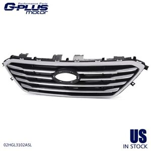 For 2015 2016 Hyundai Sonata Front Grille Assembly Chrome New Hy1200174