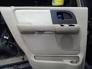 2003 2004 2005 2006 Expedition Rear Left Driver Side Interior Door Panel