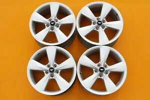 Ford Mustang 2013 2014 Silver 18 Oem Set Of 4 Wheels Rims 3907 50