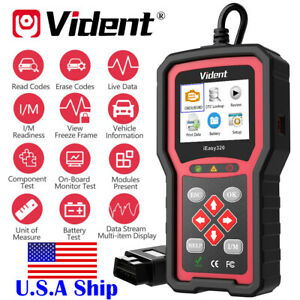Us Ship Vident Ieasy320 Obdii eobd can Code Reader Scanner Life Time Free Update