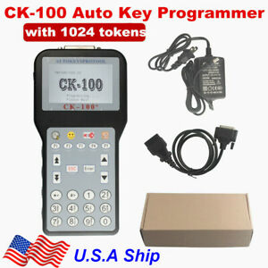 Usa Ship Ck100 Ck 100 V99 99 Auto K Ey Programmer With 1024 Token Multi Language