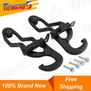 New Front Tow Hooks Heavy Duty For 09 19 Dodge Ram 1500 Oem 82210967 68196982aa