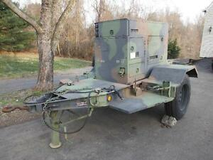 15kw Kw Mep 804a 242hrs Diesel Military Emp Proof Tactical Quiet Generator